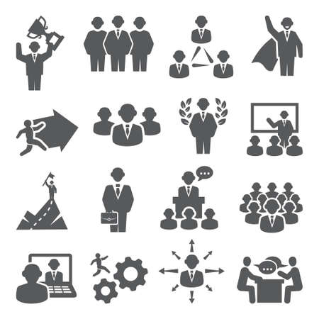 People icons Vector set isons