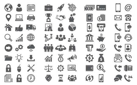 Vector set icons Icons for