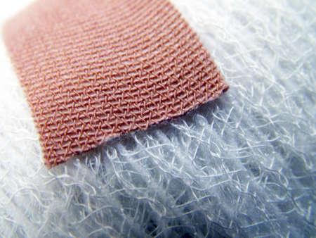 Plaster on Bandage