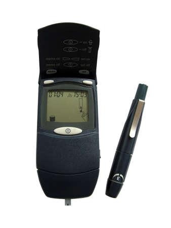 Diabetic glucose kit Stock Photo - 3192755