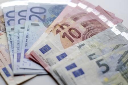 Euro argent Banque d'images - 56395520