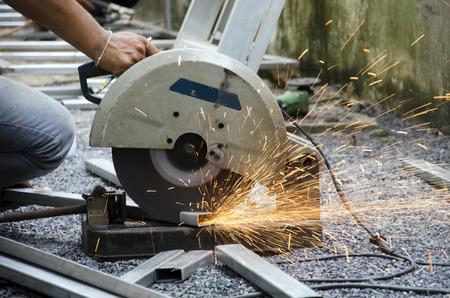cutting: Cutting steel