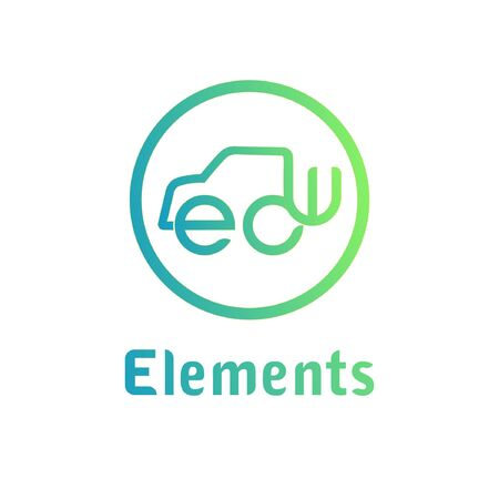 Elements abstract mark logo