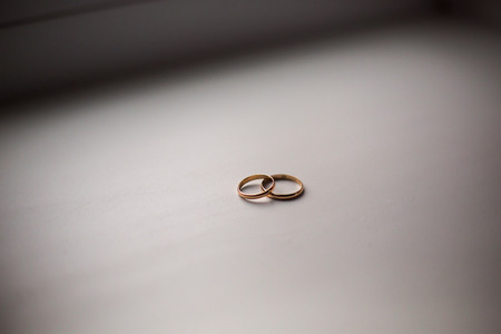 signo infinito: infinity sign of the rings, Foto de archivo