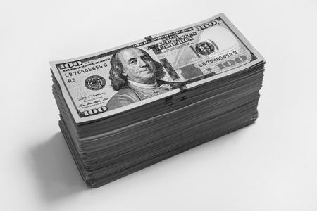 bil: heap, stack money, hundred dollar bills front side. background of dollars, new hundred-dollar bil face, the evolution of the bill in one hundred dollars, fan of money, millionaire