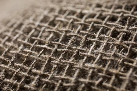 material: flax fiber, linen fabric, raw material, cloth bags, linen yarn, grunge texture, linen filament Stock Photo