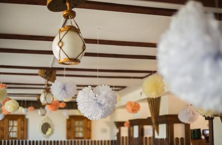 tiefe: Hochzeit Dekorationen Lizenzfreie Bilder