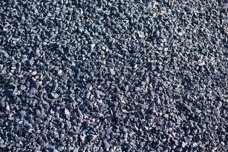 macadam: crushed stone