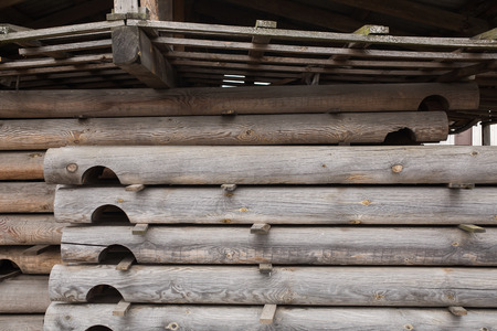lumbering: sawmill, wood processing, timber drying, timber harvesting, drying boards, baulk