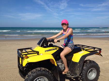 Cruising on the sand