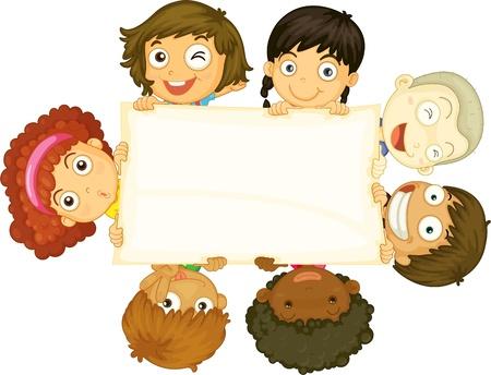 sept: illustration d'un enfant sur un fond blanc
