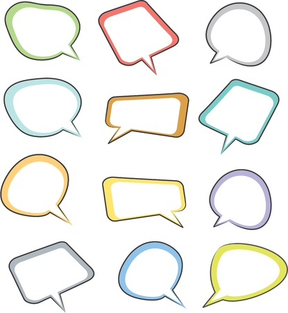 call outs: illustration of a call outs on a white background