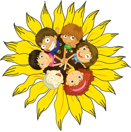 children circle: Firendship circle with young children