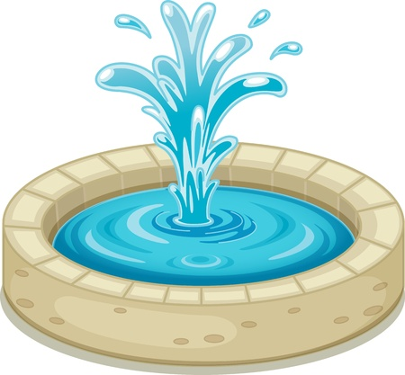 illustration of water splash on a white background illustration