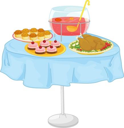 Illustration eines Lebensmittels auf weiß
