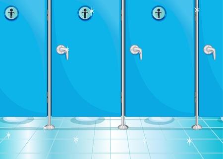 public restroom: Bathroom Illustration