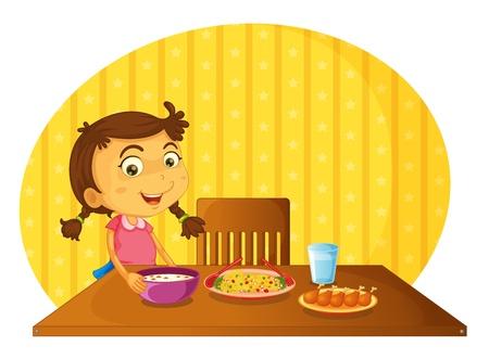 Illustrazione del concetto di aiutare a casa