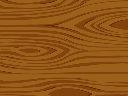 Illustration of a detailed wood texture Vector