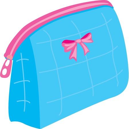 illustration of bag on white