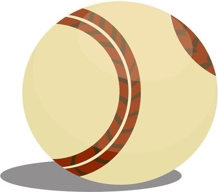 illustration of ball on white Stock Vector - 13131445
