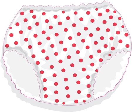 undergarment: illustration of Undergarment on white
