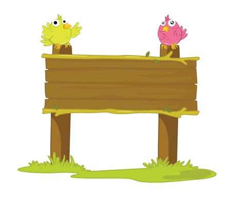 instructions: illustrazione della tavola di legno