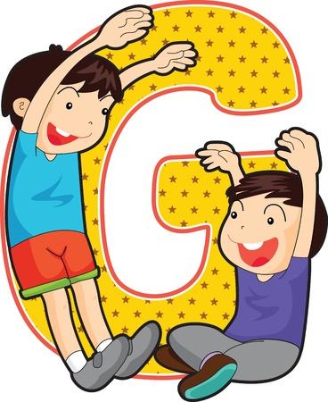 escuela infantil: Las letras del alfabeto (AZ toda la cartera)