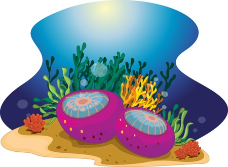 algae: Deep sea plants with bubbles