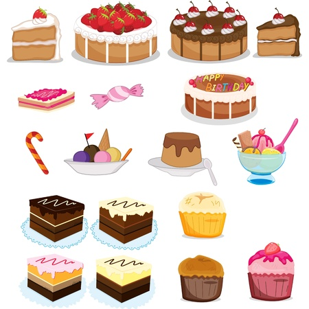 assorted sweets and desserts photo