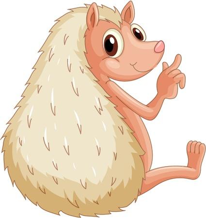 porcupine: Illustration of  Illustration