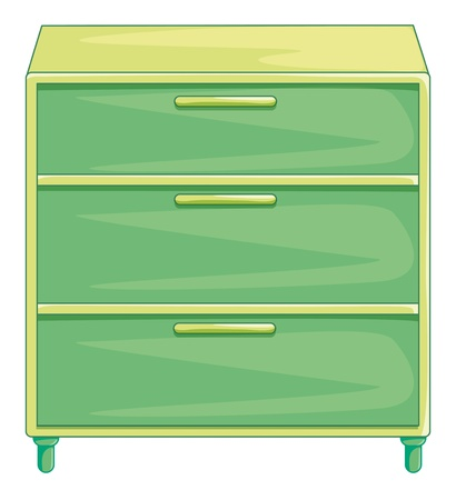 Illustration of isolated drawers Stock Vector - 13493985