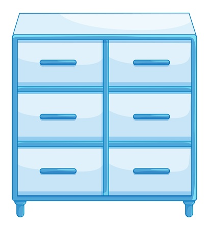 Illustration of isolated drawers Stock Vector - 13493992