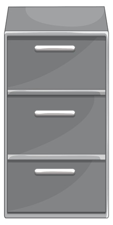 Illustration of isolated drawers Stock Vector - 13493989