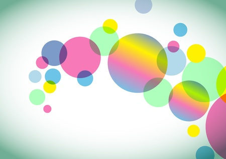 Abstract colorful circles background Stock Vector - 13494119