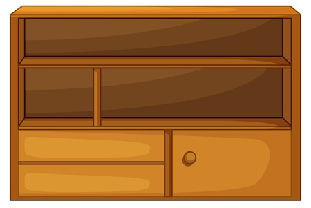 Illustration of isolated piece of furniture Vector