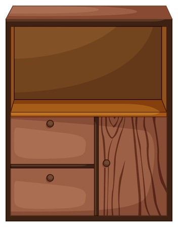 Illustration of isolated piece of furniture Stock Vector - 13493997
