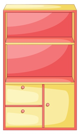 piece of furniture: Illustration of isolated piece of furniture