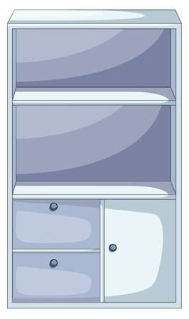 Illustration of isolated piece of furniture Stock Vector - 13493993