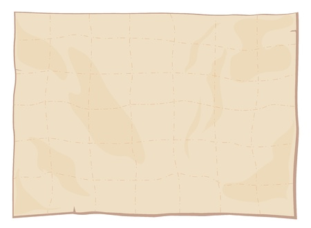 treasure map: Illustraiton of a blank paper texture
