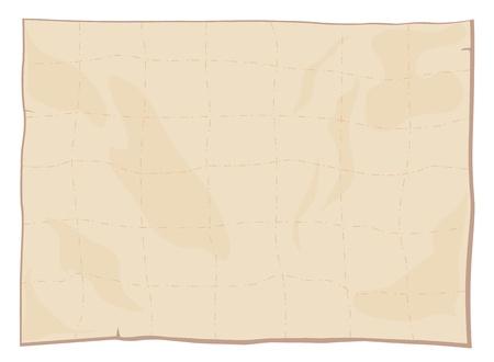 Illustraiton von einem leeren Blatt Papier Textur Vektorgrafik