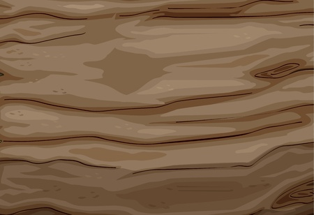 Illustration of a wood texture Vector