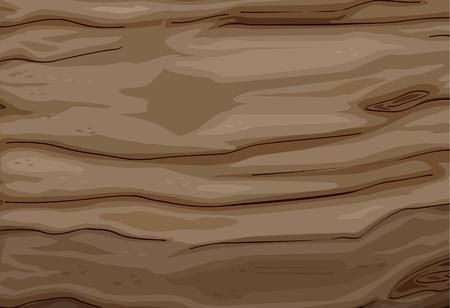 Ilustración de una textura de madera