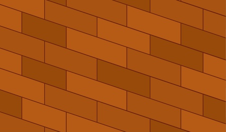 illustration of a brick wall texture Vector