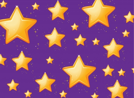 cartoon stars: Illustration of a star background