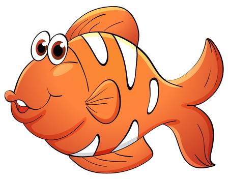 Illustratie van een tropische vissen