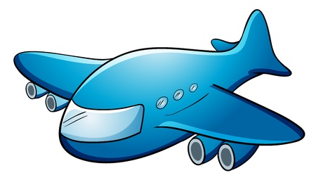 jumbo: Illustration of a jumbo jet