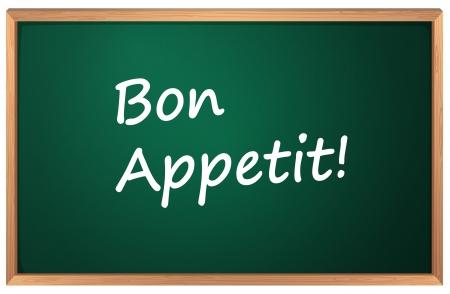 Illustration of a Bon Appetite sign Stock Vector - 13749226