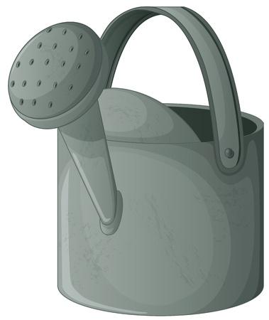 watering: Illlustration van een gieter Stock Illustratie