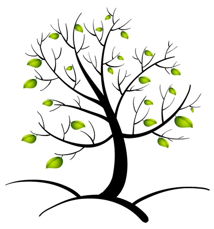 Illustration of the tree of life Vector