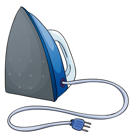 control tools: Illustration of an isolated iron